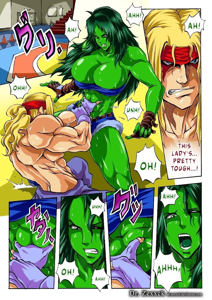 Alex vs She Hulk