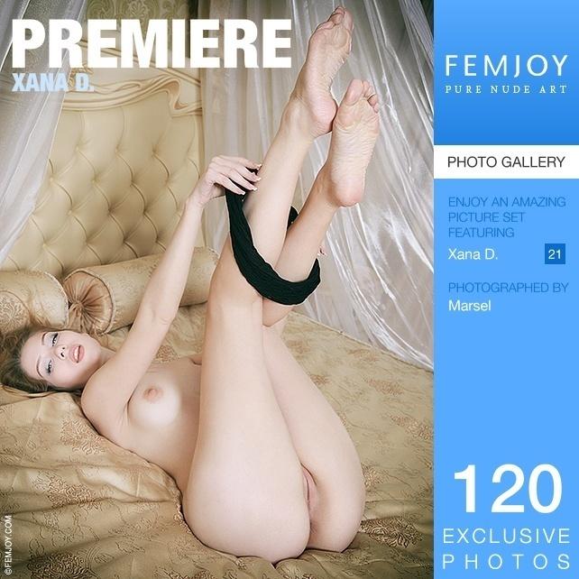 FEMJOY – Xana D. – Premiere