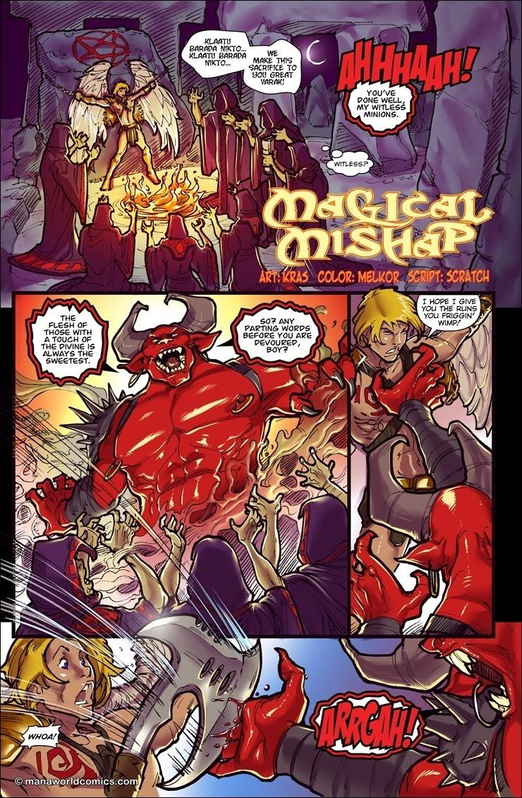 Mana World Comics – Magic Mishap