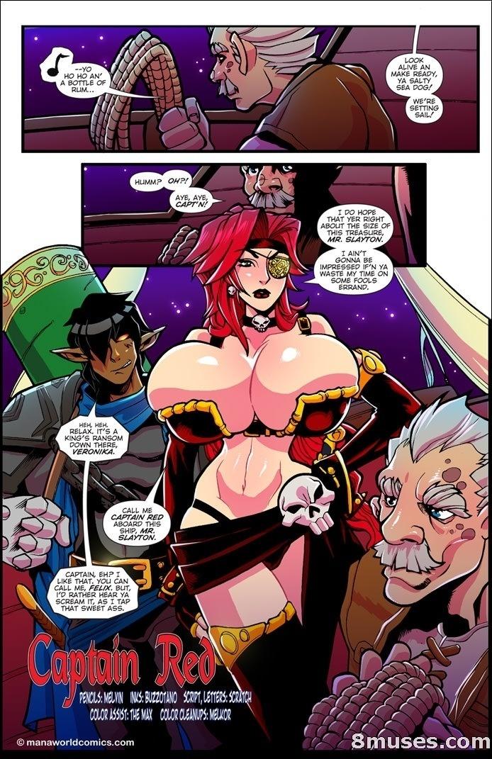 manaworldcomics – Captain Red