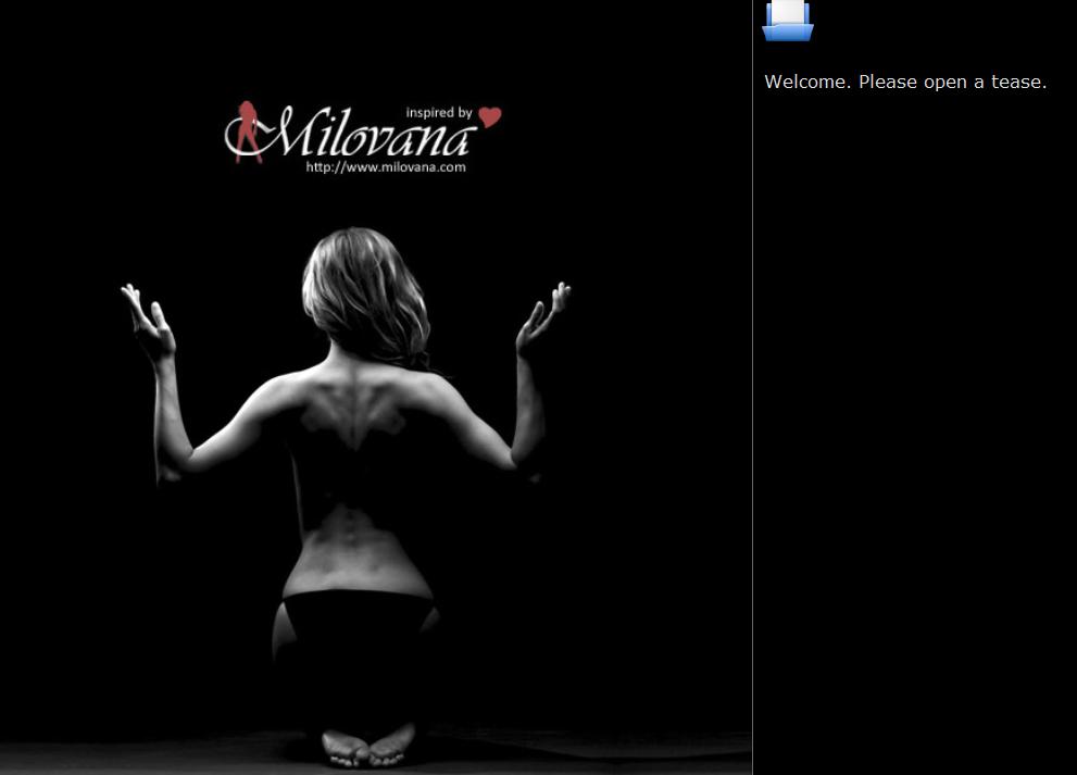 Milovana – TeaseMe The Gamble