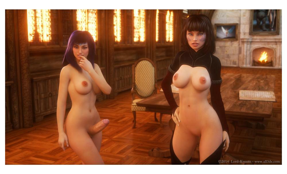 Affect3D – Lustful Sorceress 1-2