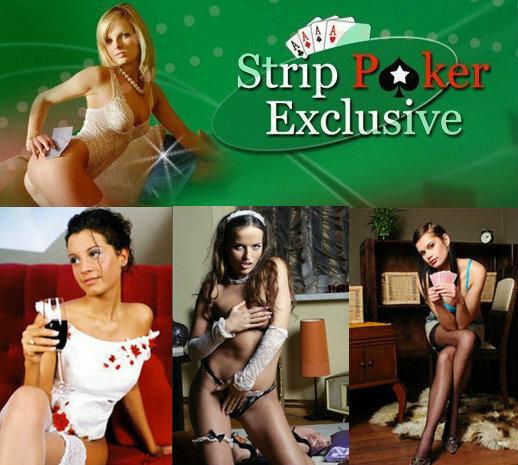 Strip poker porn game