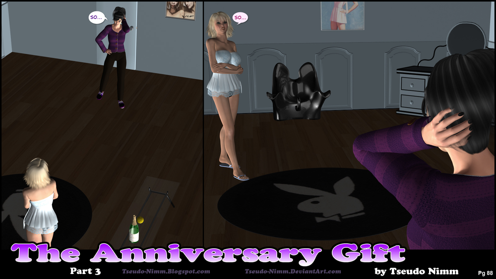 [Karacomet] The Anniversary Gift – Chapter 1 (100 Pics)