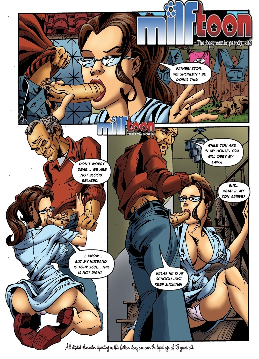 free adult comic download