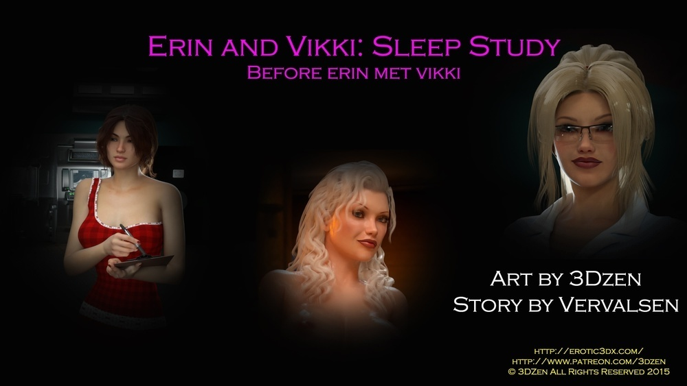 3DZen – Erin And Vikki – Sleep Study – Chapter 1 (87 Pics)