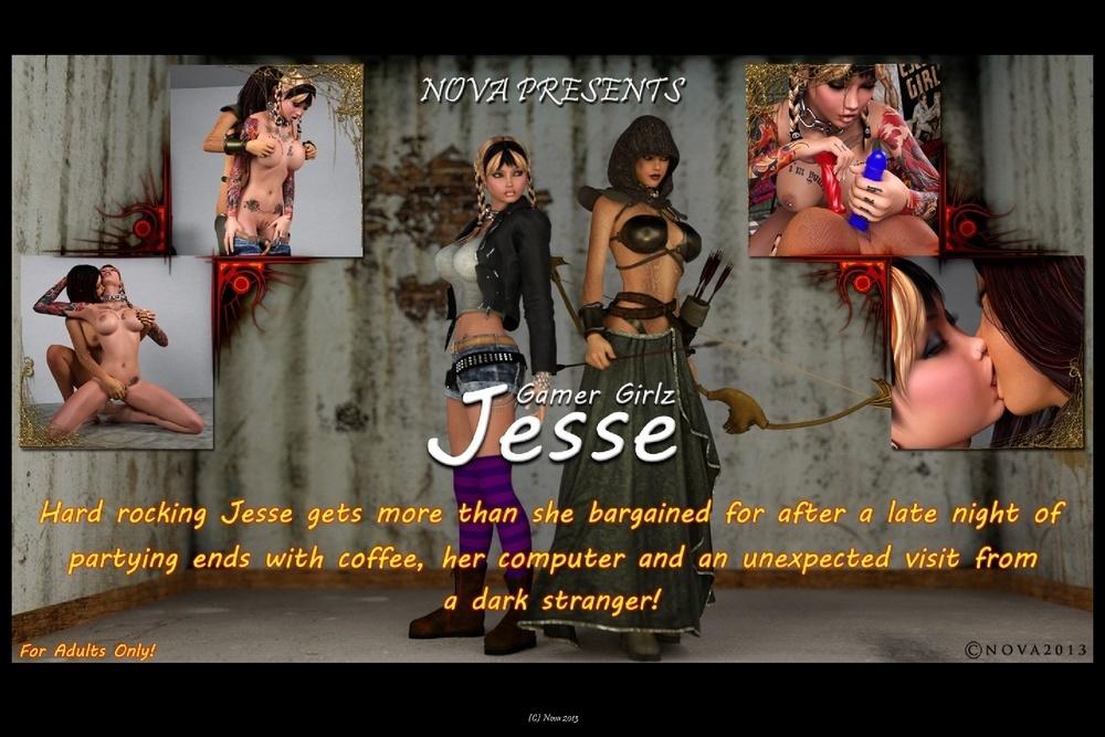 Nova – Gamer Girlz Jesse (72 Pics)