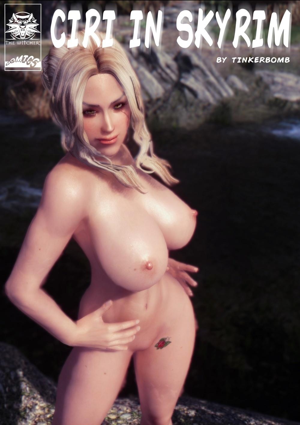Tinkerbomb – Ciri in Skyrim (8 Pics)