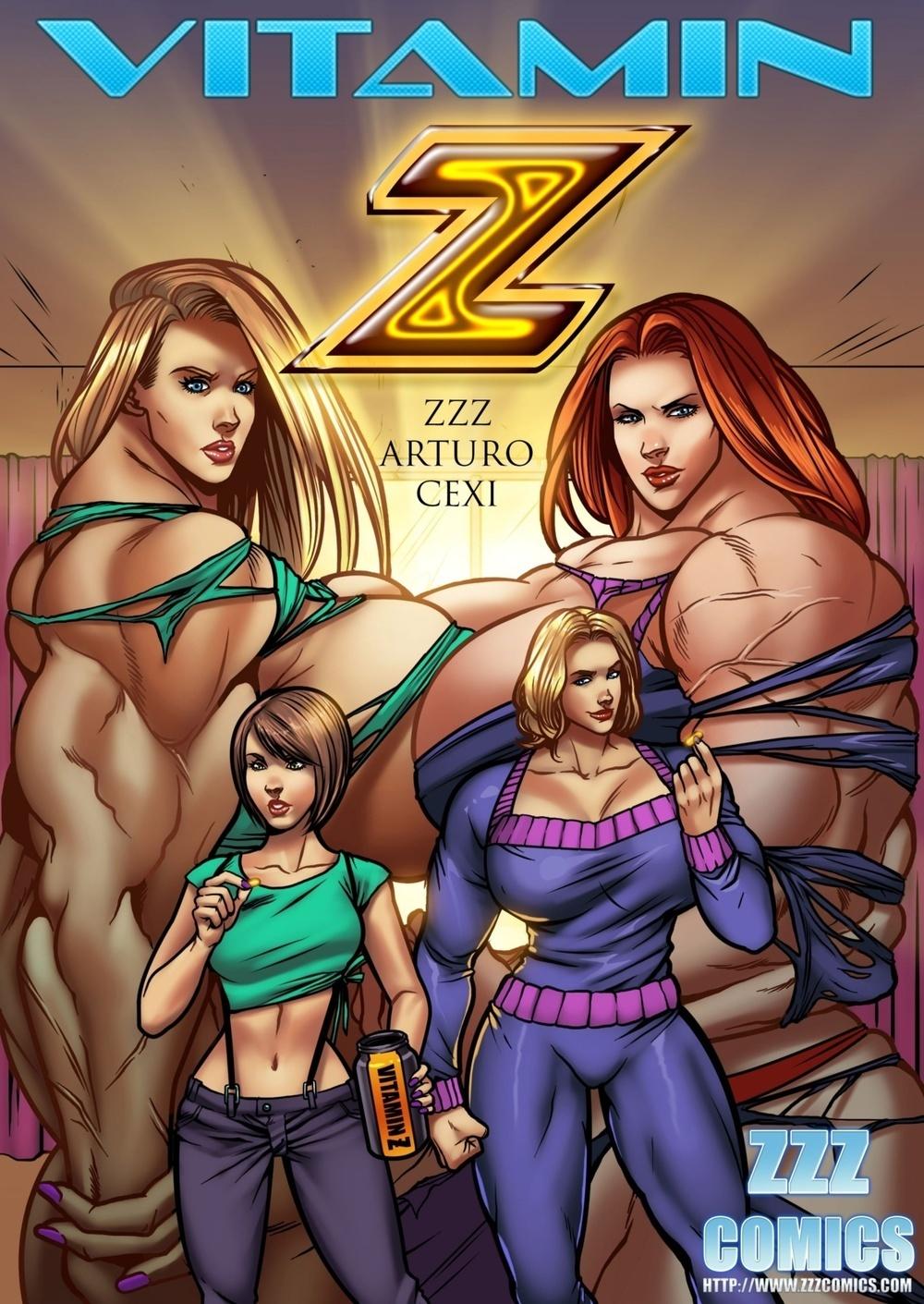 ZZZ Comics-Vitamin Z