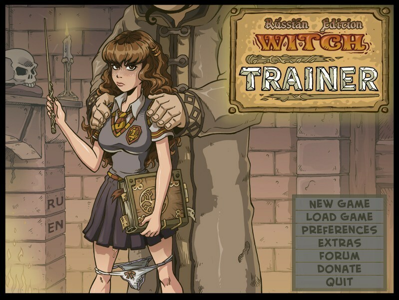 Witch Trainer  – Version 1.6f – Mod by sad Crab