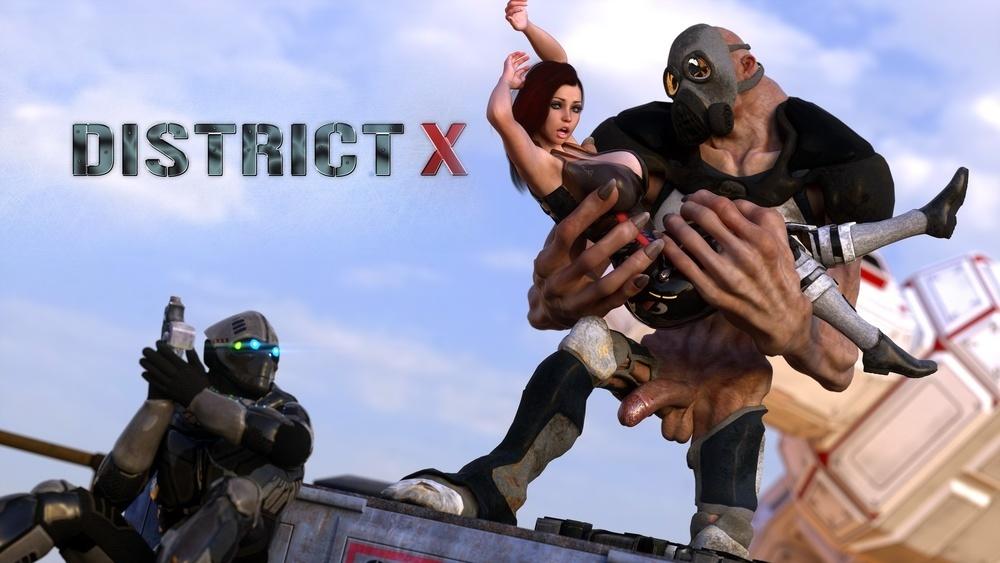 3DXART – DISTRICT X