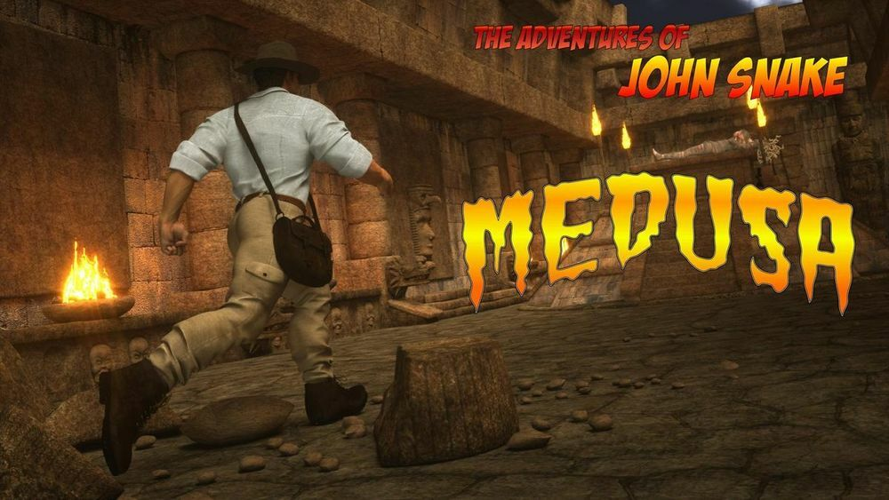 MEDUZA THE ADVENTURES OF JOHN SNAKE