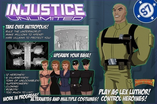 SUNSETRIDERS7 – INJUSTICE UNLIMITED V 1.05 ALPHA ENG