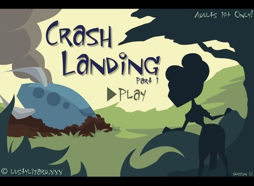 THE LUSTY LIZARD – CRASH LANDING 1 – 2