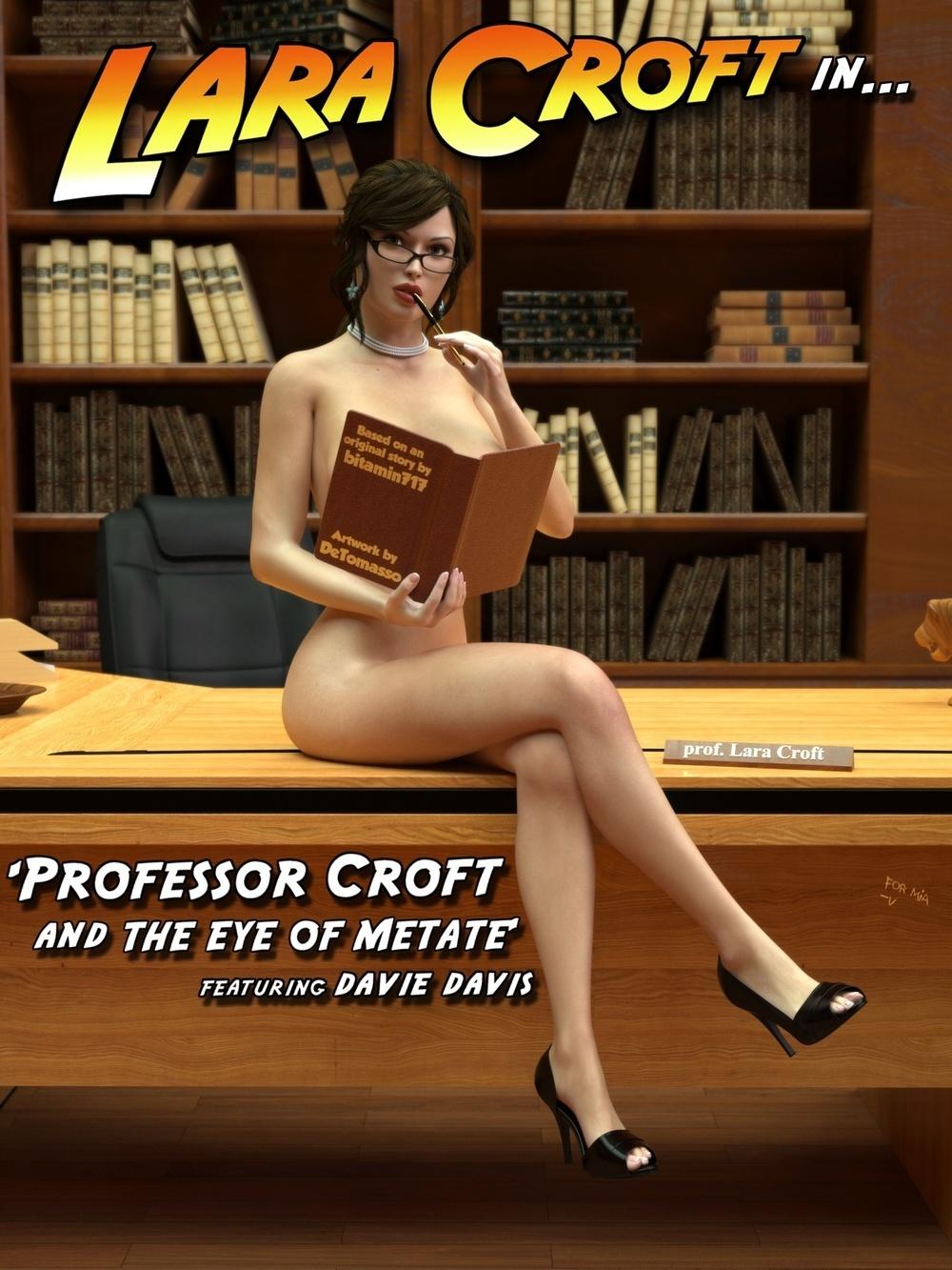DETOMASSO ART – PROFESSOR CROFT AND EYE OF METAT