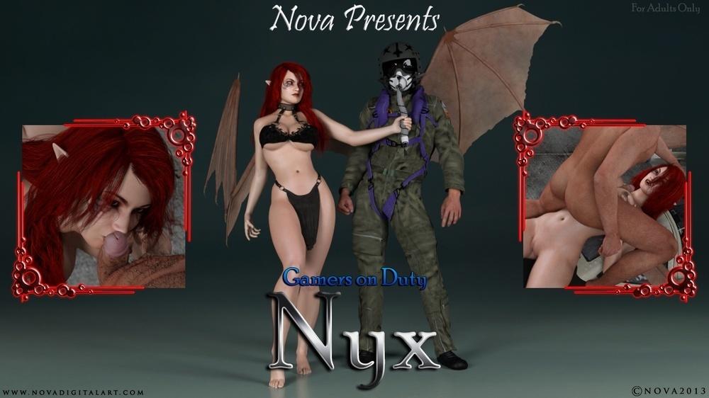 AFFECT3D COMICS COLLECTION – NYX 3D