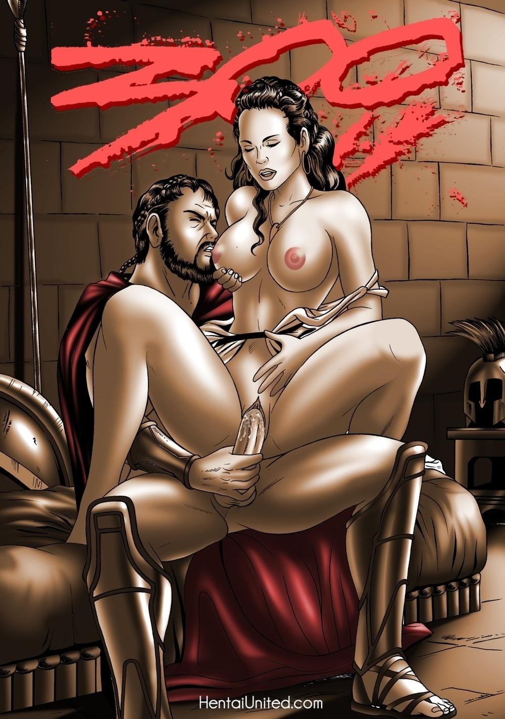 Онлайн порно пародия 300 спартанцев