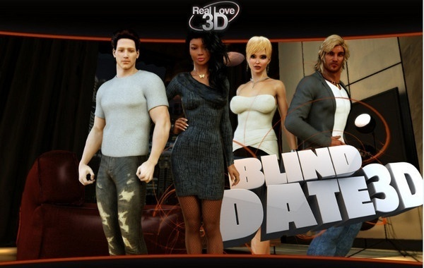 REAL LOVE 3D – LESSON OF PASSION – BLIND DATE 3D