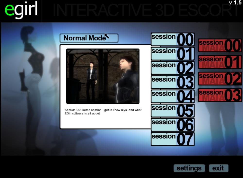 3D Sex Program egirl interactive llc - e-girl 1.5.1 - pornplaybb