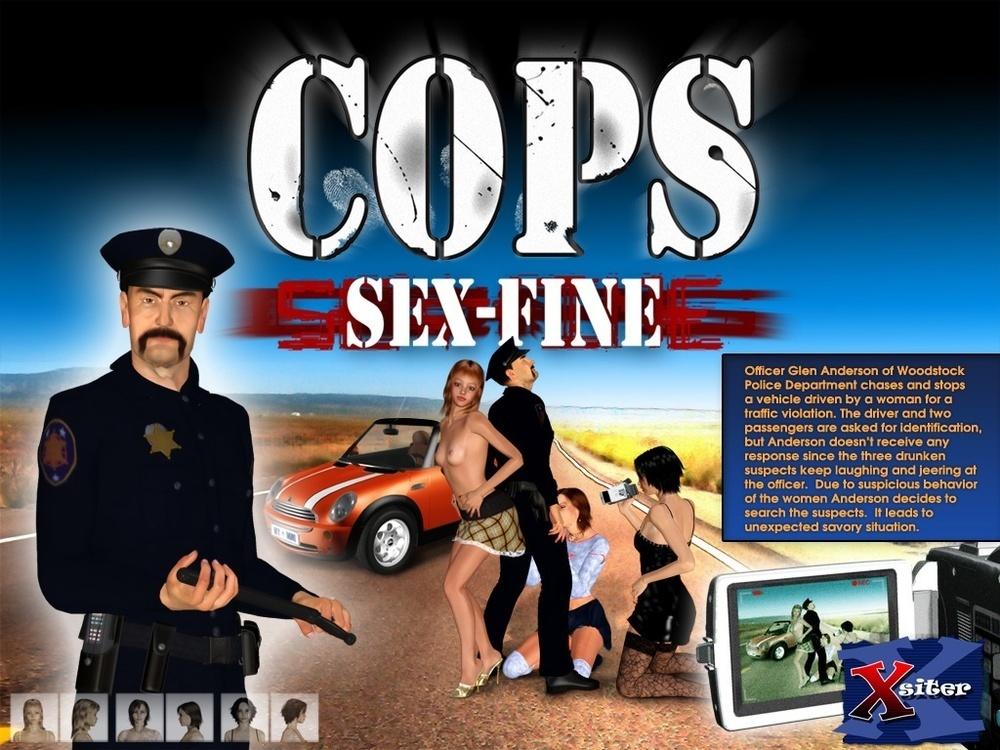 ULTIMATE3DPORN – COPS PART 1-2