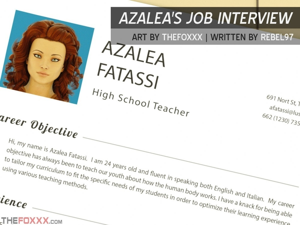 THE FOXXX – AZALEA'S JOB INTERVIEW – PART 1