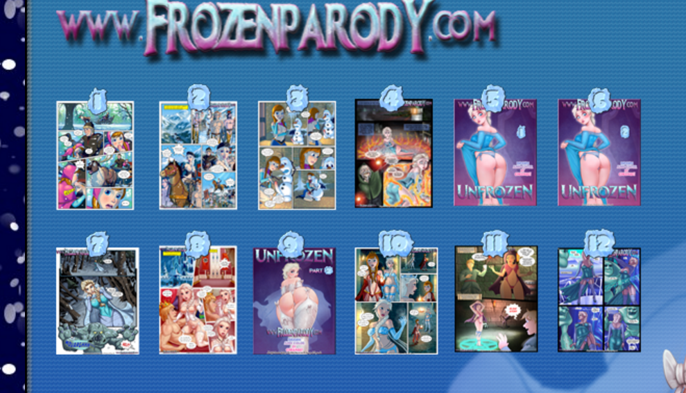 FROZEN PARODY 1-12 – M1LFTOON ARTISTS