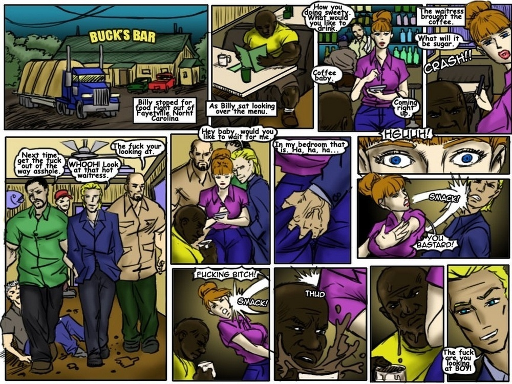 ILLUSTRATEDINTERRACIAL – ADVENTURES OF BIG MACK-BUCK'S BAR