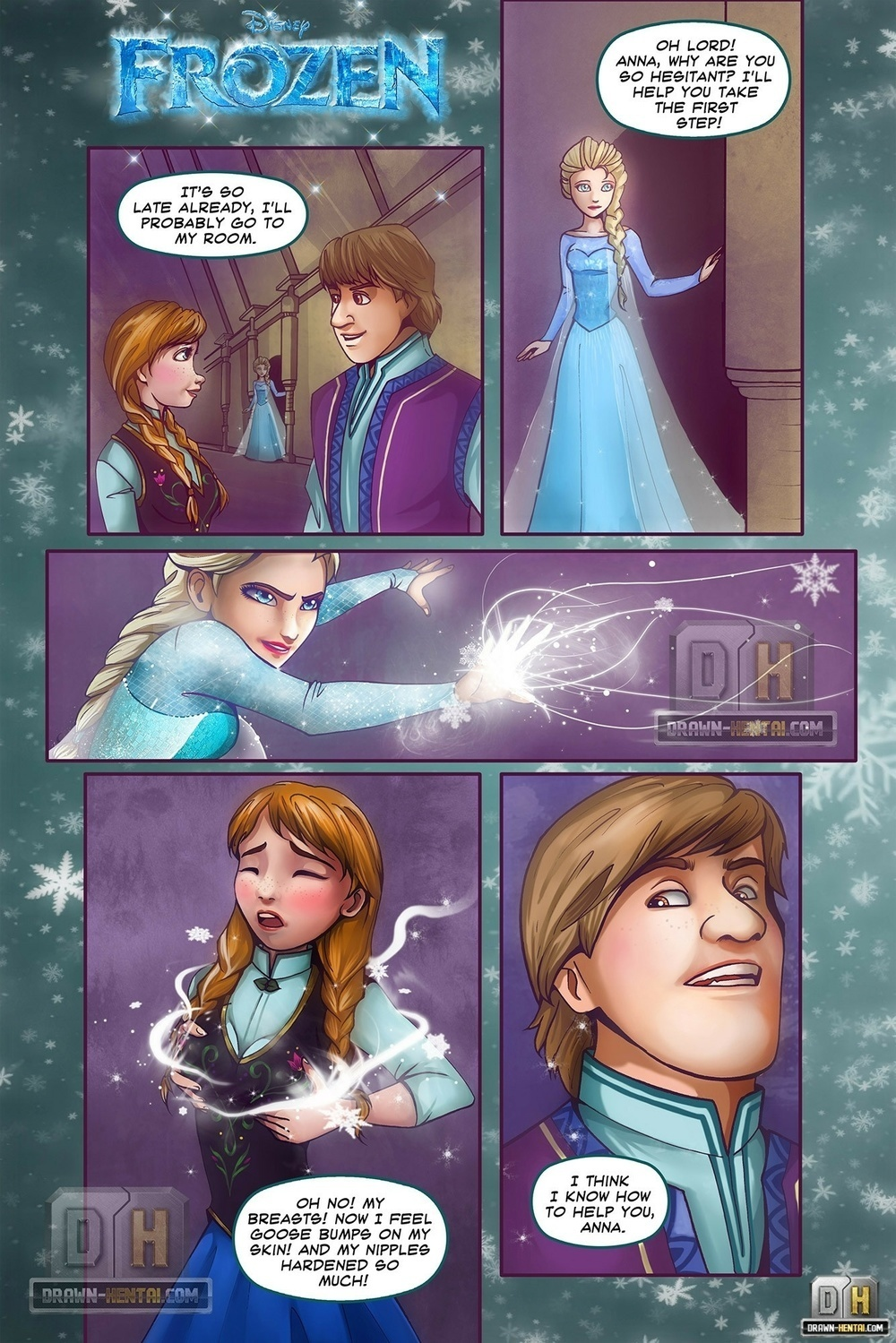 DRAWN-HENTAI – DISNEY, FROZEN