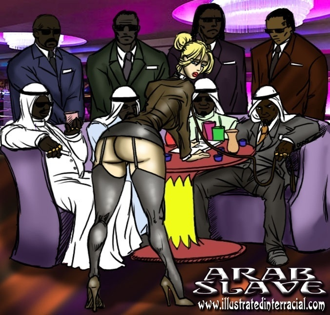 ILLUSTRATEDINTERRACIAL – ARAB SLAVE
