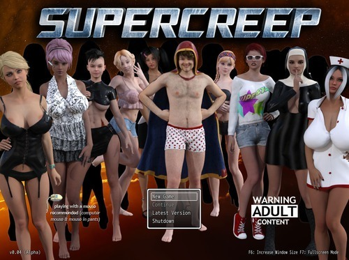 Supercreep, version 0.04 Alpha