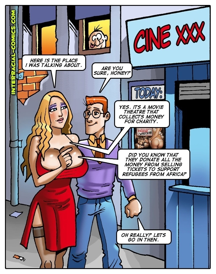 Interracial-Comics – Charity Couple