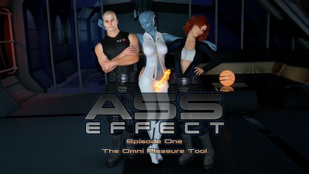 HZR – Ass Effect – Episode 1 – The Omni Pleasure Tool