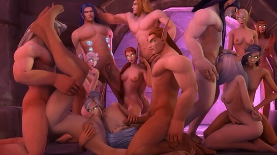 Blud Elf Orgy
