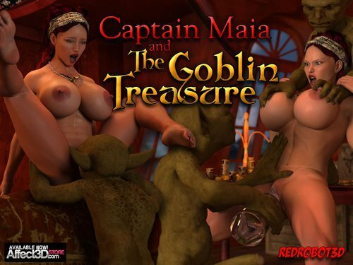 Affect3D – Redrobot3D – Captain Maia & The Goblin Treasure
