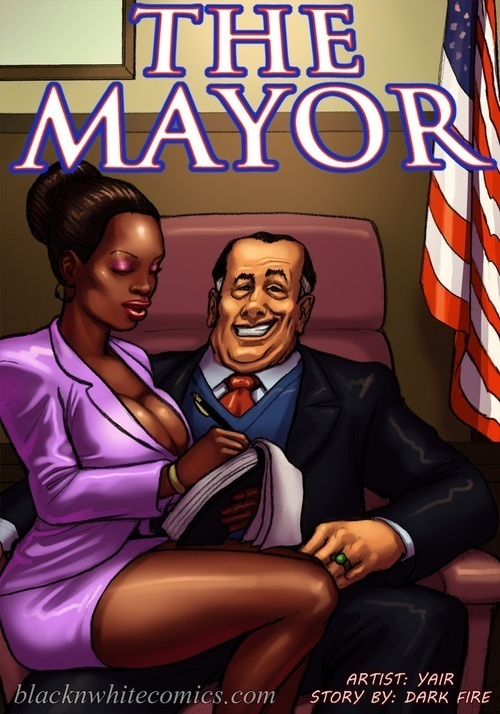 BlackNwhitecomics – The Mayor