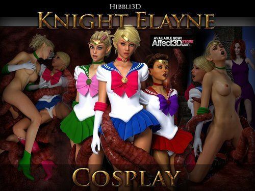 Hibbli3D – Knight Elayne – Cosplay