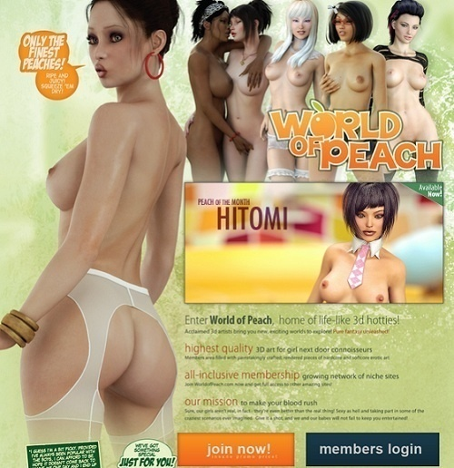 WorldOfPeach – SiteRip