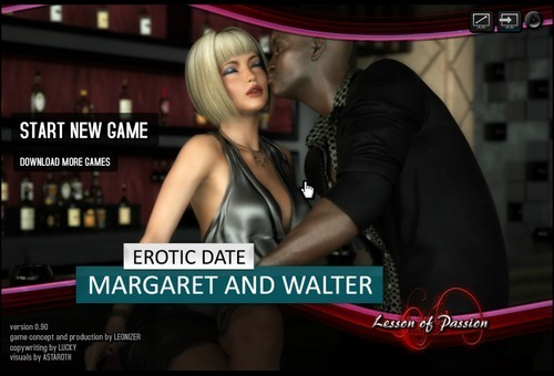 Lesson Of Passion – Erotic Date: Margaret and Walter