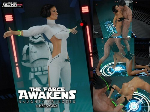 HZR – The Farce Awakens Naughty Princess (Star Wars)