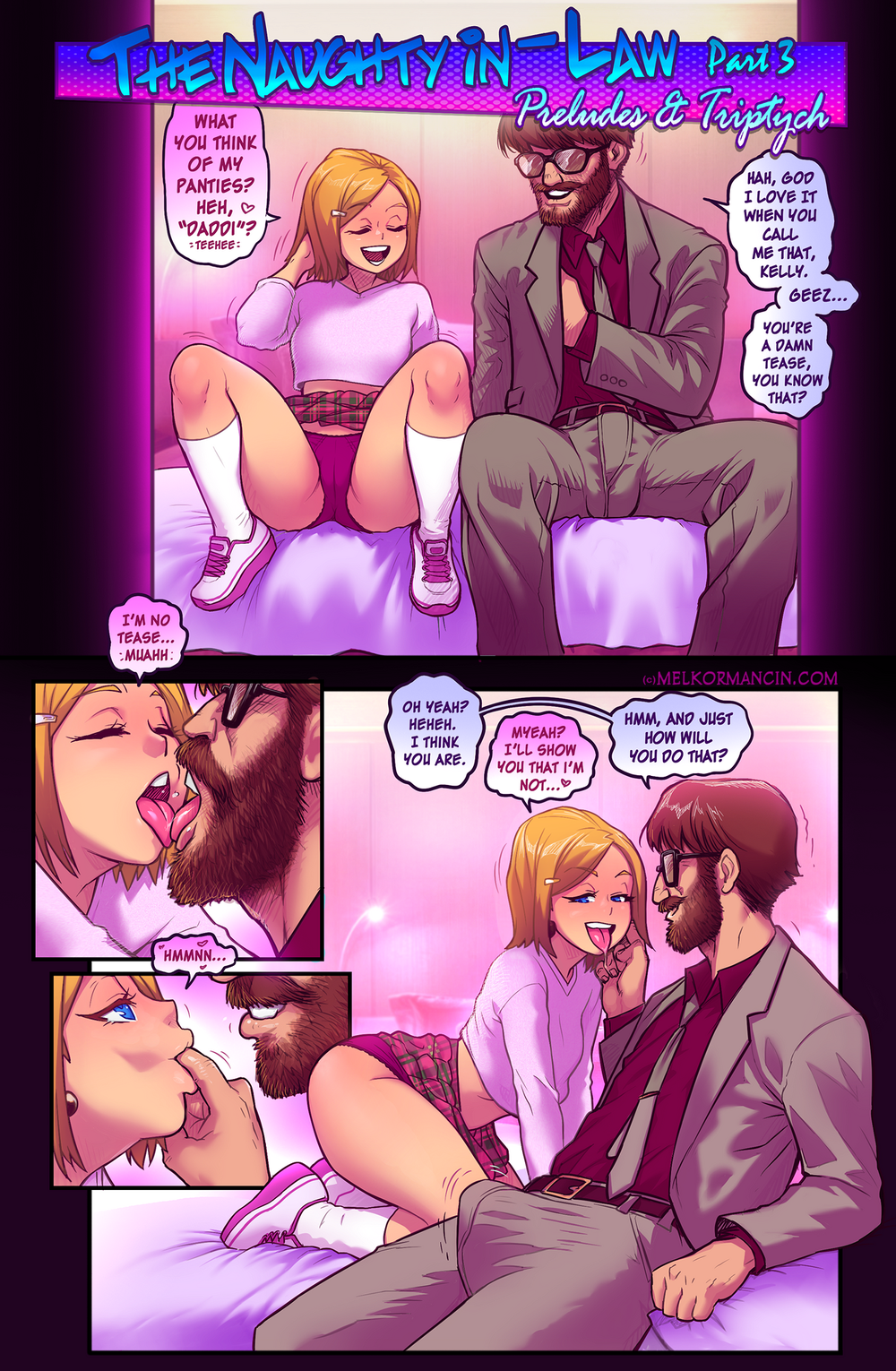 MelkorMancin – Naughty In-Law Part 3 [Complete]
