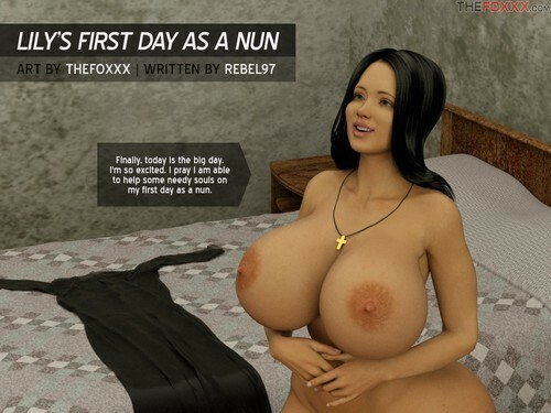 The Foxxx – Lily first day as a nun