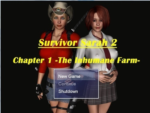 Survivor Sarah 2 Part 1 – The Inhumane farm, version 1.03