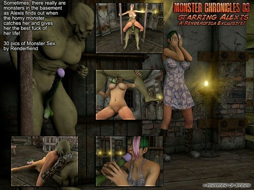 3DFiends – Monster Chronicles 3