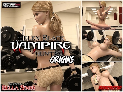 Redrobot3D – Helen Black Vampire Hunter – Origins