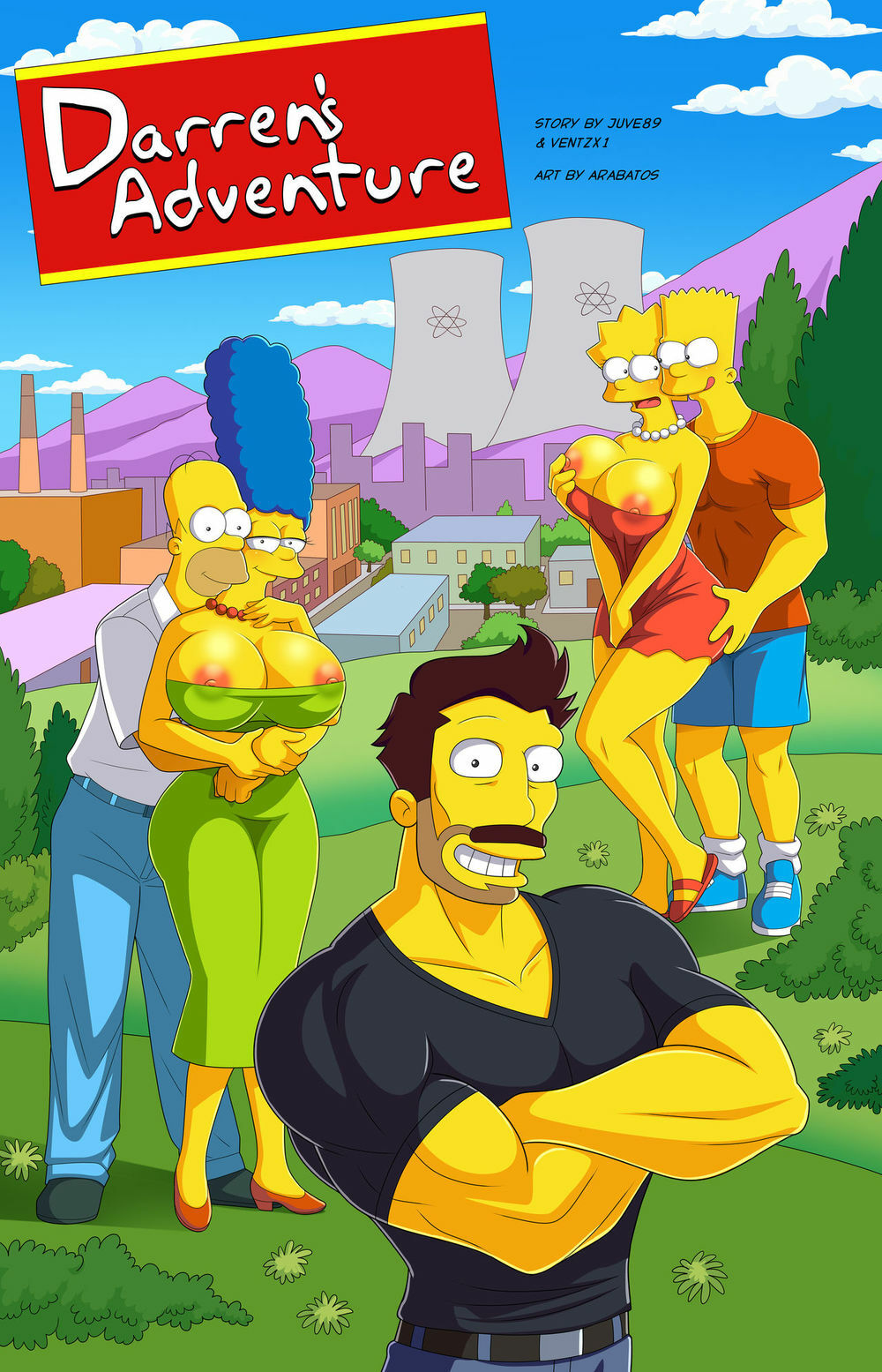 Adult Cartoon Porn Pictures simpsons archives - pornplaybb