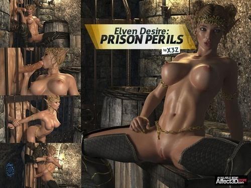 HitmanX3Z – Elven Desire: Prison Perils 1-2