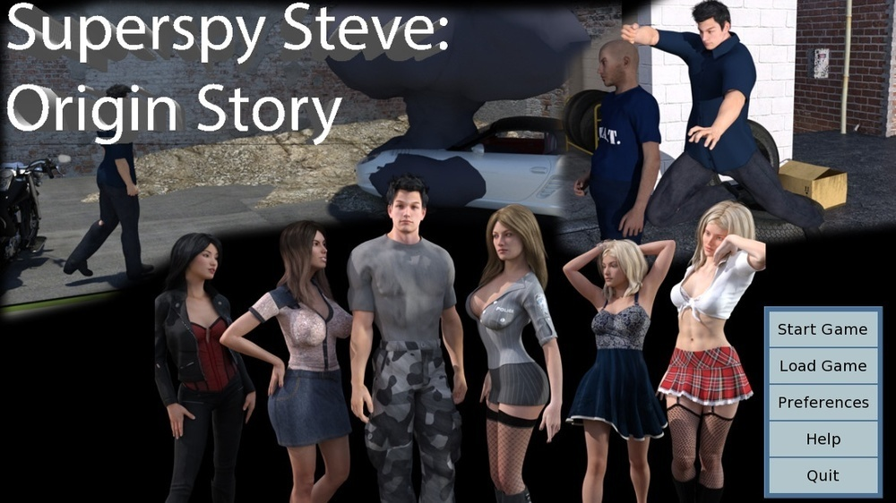 Superspy Steve – Version 1.0 [Update]