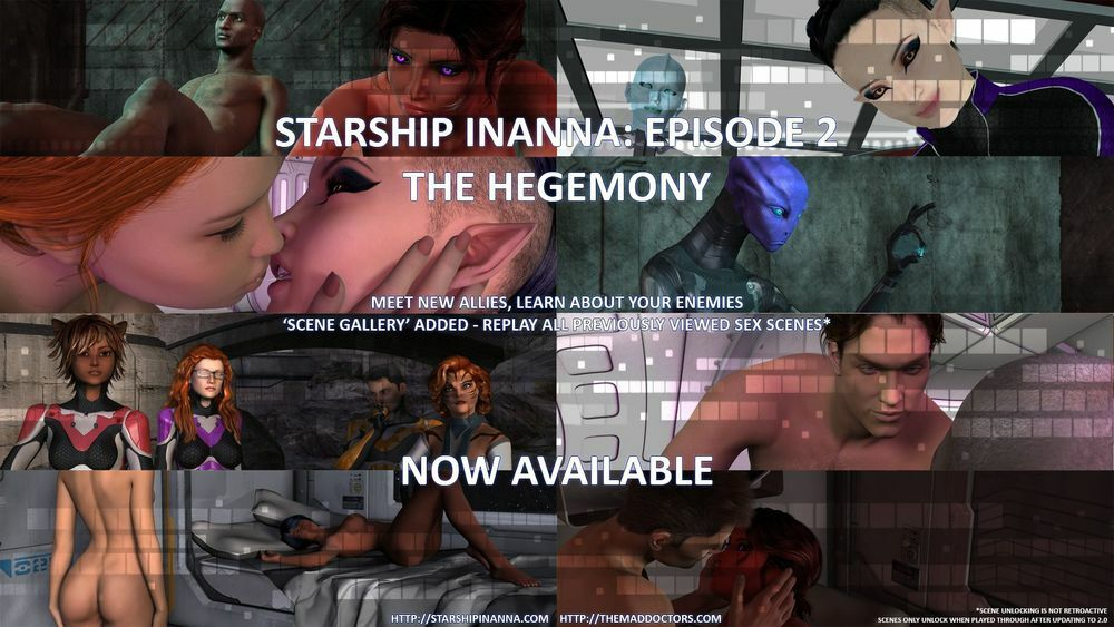 Starship Inanna – Episode 2: The Hegemony