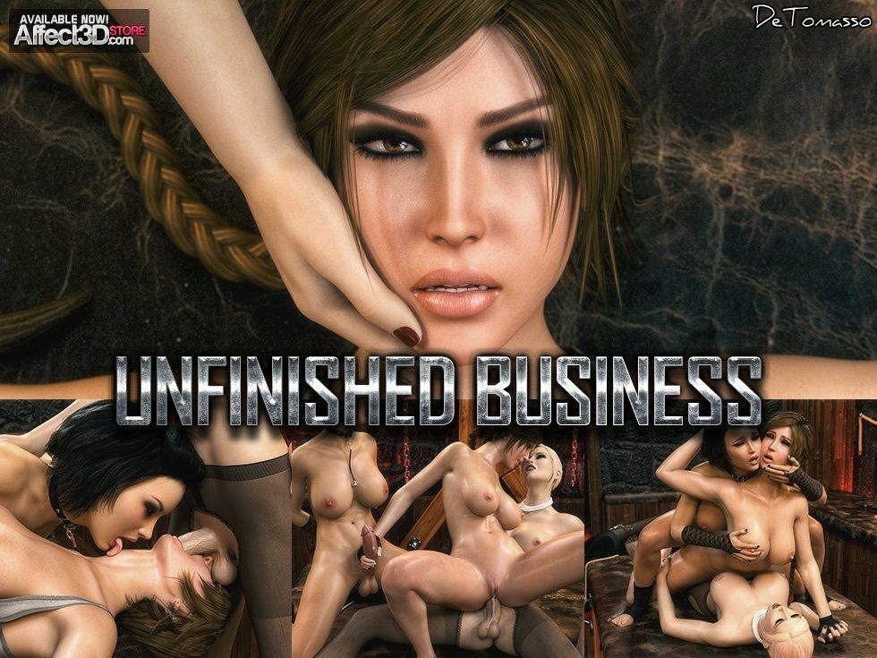 komiks porno Lara Croft