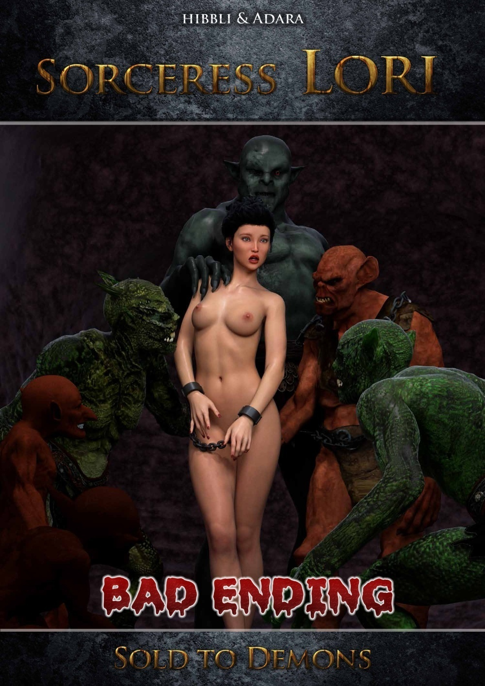 Hibbli3D – Sorceress Lori – Sold To Demon – Bad Ending 2